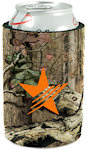 Neoprene Trademark Camo Coolies with Bottom